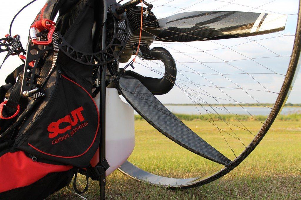 scout carbon fiber paramotor